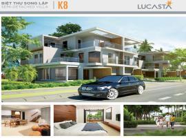 Hình ảnh Biệt thự song lập K8 dự án Lucasta