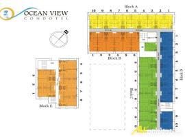 Mặt bằng tầng 1 và 2 dự án Tropical Ocean