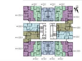 Mặt bằng tầng 35-50 tòa căn hộ HPC LandMark 105