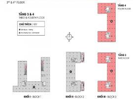 Mặt bằng tâng 3-4 dự án Sun Tower
