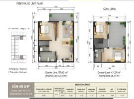 Thiết kế căn hộ G-P1 dự án Sun Tower