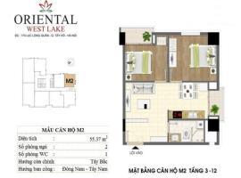 M2 Chung cư Oriental Westlake