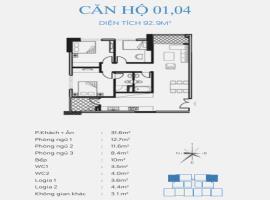 04 Chung cư Smile Building, Hoàng Mai - Tầng: 10