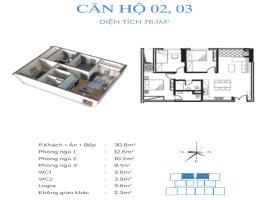 03 Chung cư Smile Building, Hoàng Mai - Tầng: 10