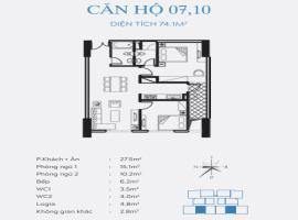10 Chung cư Smile Building, Hoàng Mai - Tầng: 10