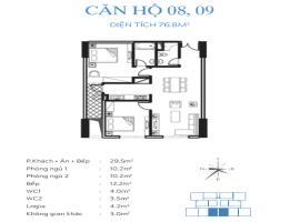 09 Chung cư Smile Building, Hoàng Mai - Tầng: 10