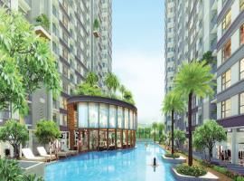 Bể bơi tại dự án Western Capital