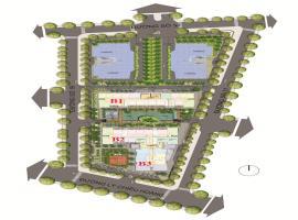 Các vị tri tháp của dự án Western Capital