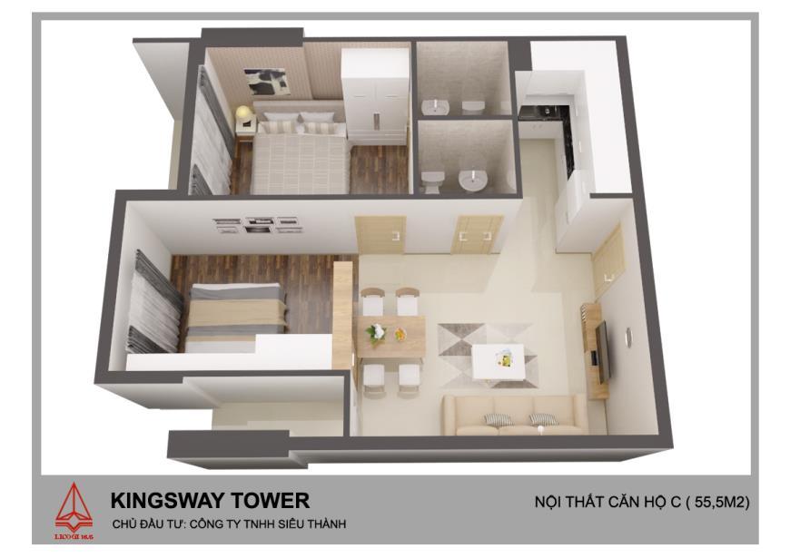 CH09 Căn hộ Kingsway Tower