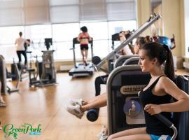 Phòng tập Gym tại chung cư CT15 Việt Hưng