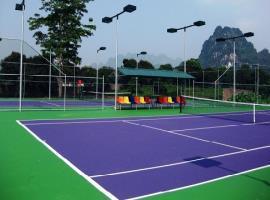 Sân tennis tại dự án Aloha Phan Thiết