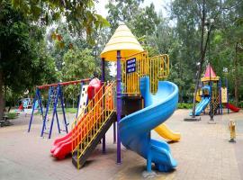 Công viên xanh mát tại dự án Moonlight Park View