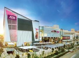 Trung tâm mua sắm tại dự án Moonlight Park View