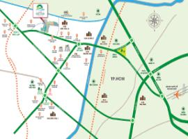 Vị trí dự án Phúc An City Village