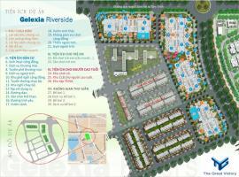 Tiện ích hoàn hoàn hảo tại dự án Gelexia Riverside