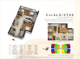 Căn hộ G tòa CT2A dự án Gelexia Riverside