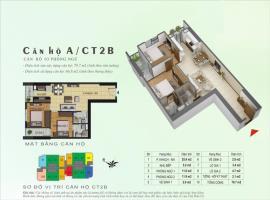 Căn hộ A tòa CT2B dự án Gelexia Riverside