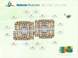 Mặt bằng tầng điển hình toàn CT2B dự án Gelexia Ri