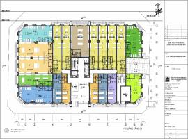 Mặt bằng tầng 1-5 dự án Eurowindow Nghệ An