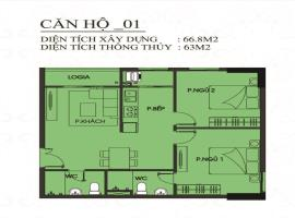 CH01 - Block B Căn hộ Tecco Town