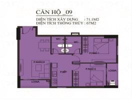 CH09 - Block B Căn hộ Tecco Town