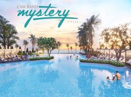 Hồ bơi nước mặn tại Cam Ranh Mystery Villas