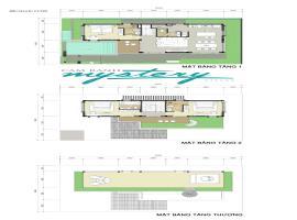 Mặt bằng tầng 1 tại Villas Cam Ranh Mystery Villas