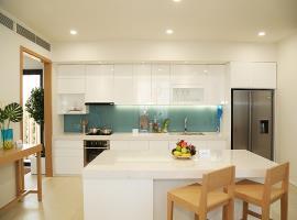 Phòng bếp tại dự án Cam Ranh Mystery Villas
