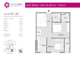 04 Tòa K1 tầng 9 Chung cư The K-Park Văn Phú - Tầng: 9