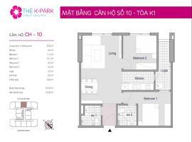 10 Tòa K1 tầng 12-Chung cư The K-Park Văn Phú