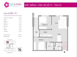 11 Tòa K1 tầng 12-Chung cư The K-Park Văn Phú