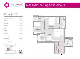 15 Tòa K1 tầng 12-Chung cư The K-Park Văn Phú