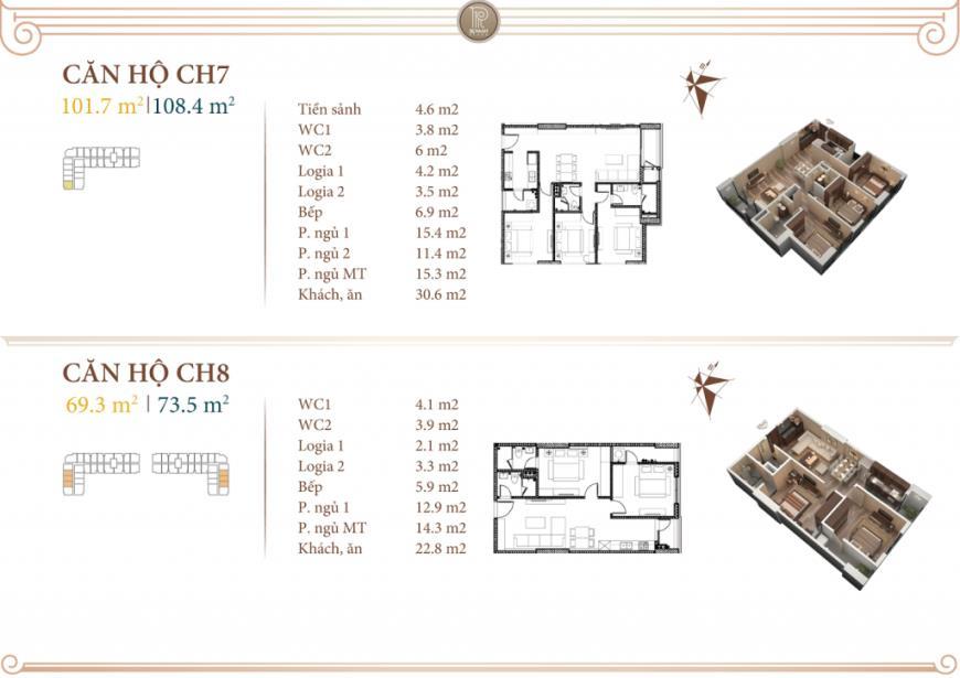 08 Tòa B1 tầng 7-10 tầng 10-Chung cư Roman Plaza