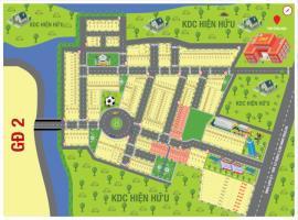 Sơ đồ phân lô dự án Nam Phong Ecopark