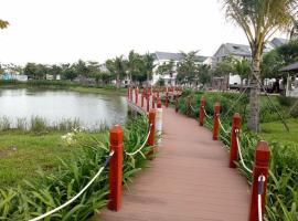 Không gian xanh tại dự án Nam Phong Ecopark