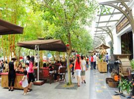 Phố ẩm thực tại dự án Nam Phong Ecopark