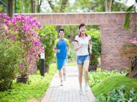 Phố đi bộ dự án Nam Phong Ecopark