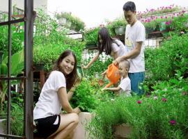 Vườn rau sạch 2 tại dự án Nam Phong Ecopark