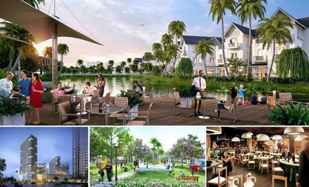 Tiện ích đa dạng tại tại dự án Nam Phong Ecopark