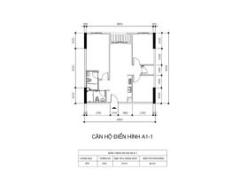 Căn hộ A1-1 dự án Centum Wealth