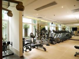 Phòng tập gym tại  Long Hậu