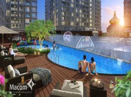 Bể bơi tại dự án