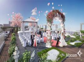 Trung tâm sự kiện trên mái tại dự án Hinode City