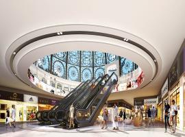 Trung tâm thương mại tại dự án Hinode City