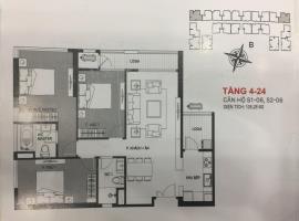 S1-06 - Tầng 4-24 tòa Sachi Căn hộ Hinode City