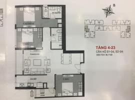 S1-04 - Tầng 4-24 tòa Sachi Căn hộ Hinode City