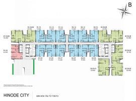 Mặt bằng tầng 25-26 tòa Sachi dự án Hinode City