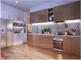 Phòng bếp tại dự án Hinode City