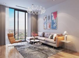 Phòng khách tại dự án Hinode City