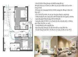 Thiết kế căn hộ tại dự án Hinode City